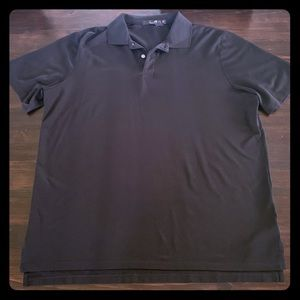 RLX Ralph Lauren Mens Black Polo Shirt